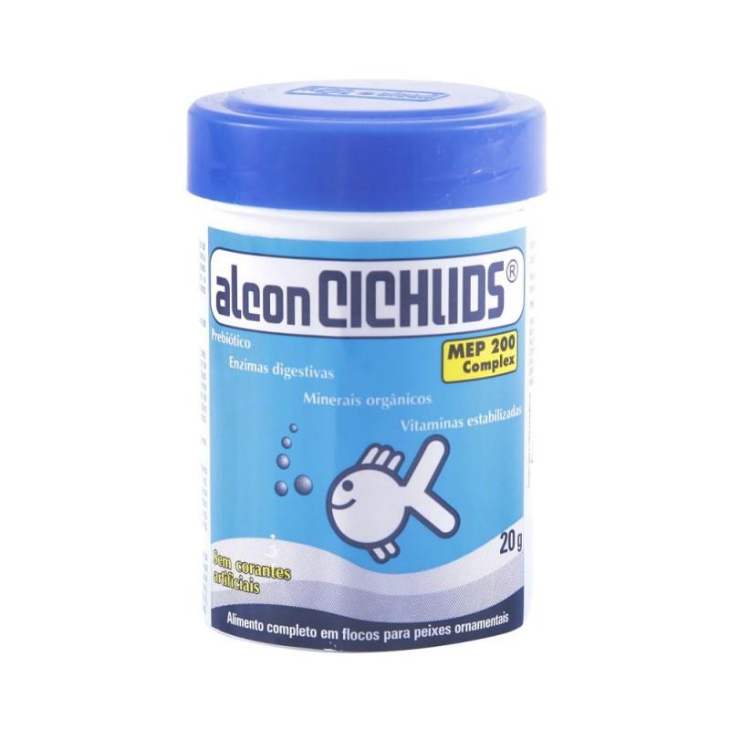 Ração para Peixes Alcon Cichlids 20 g