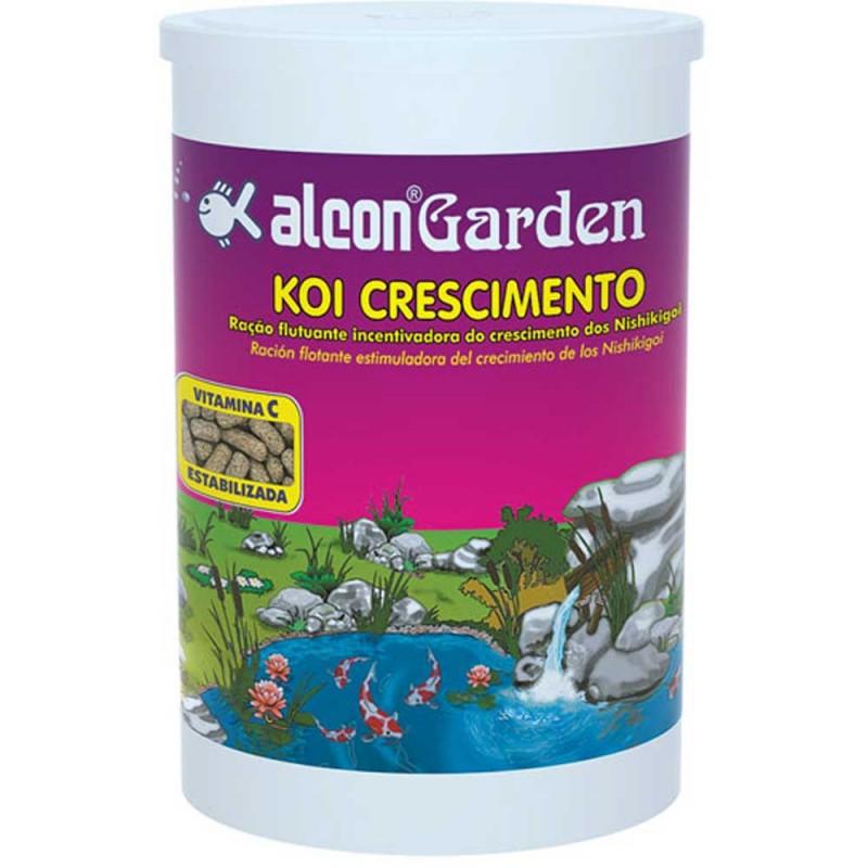 Alcon garden koi crescimento ra o para peixes for Comida para koi