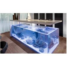 Aquário Cube AquaGolden de Acrílico